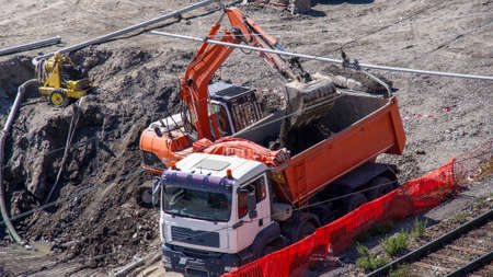 bulldoze: Work on the realizzasione a big way