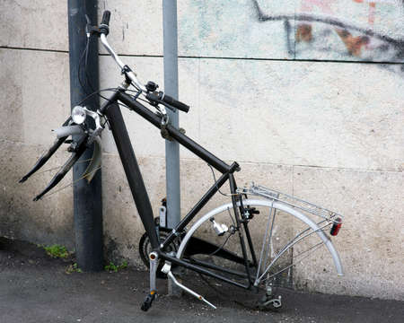 A chain is not enough to prevent the theft of a bicycle