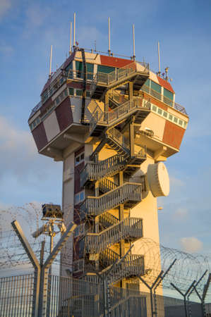 Air control tower required for security Stock Photo