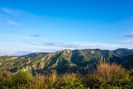 green ridge: landscape aspromonte Stock Photo