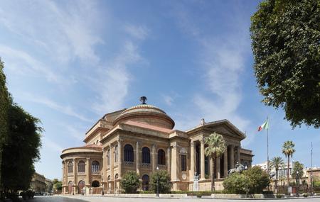 Italy, Palermo, the Opera House
