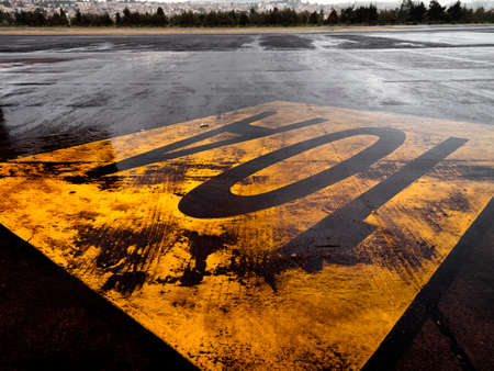 equinox: Runway of the old airport Mariscal Sucre