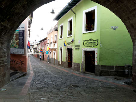 quito: Calle La Ronda Quito