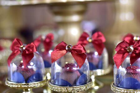 beautiful arrangement for birthday favors, brigadier chocolate candies