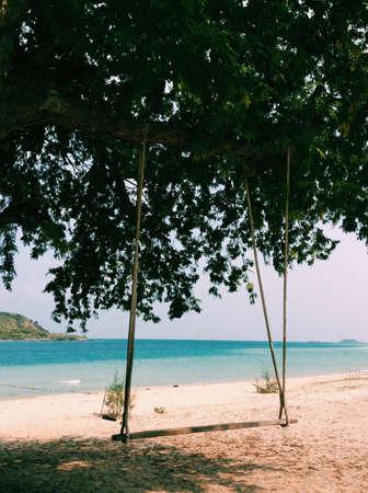 shore: Swing on the shore