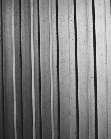 aluminium: Aluminium wall