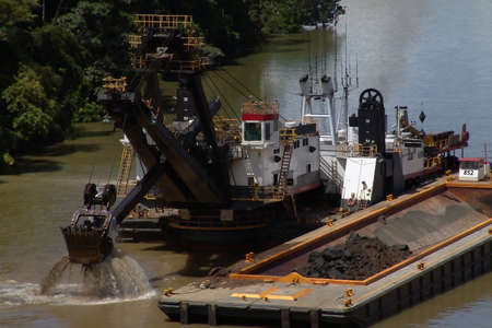 dredging tools:   Dredge