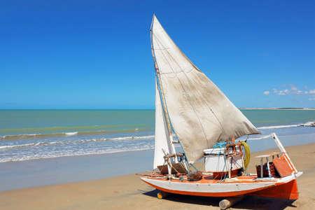 Brazilian traditional sailing boat                       Stock Photo - 2972446