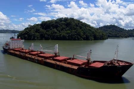 shipload: Buques de carga Foto de archivo