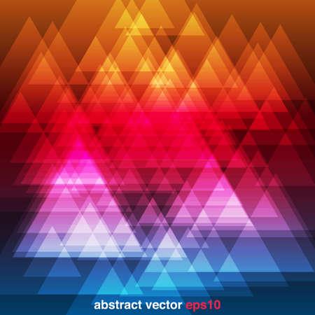 prisma: Abstract Rainbow Triángulos Fondo - triángulo fondo abstracto colorido