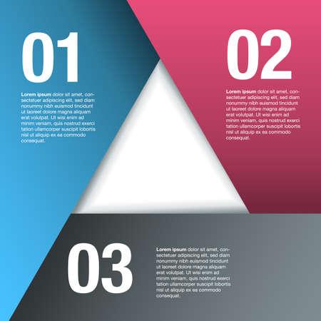 三角形の重複用紙の背景
