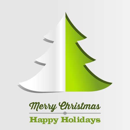 winter tree: Christmas Tree Paper Background