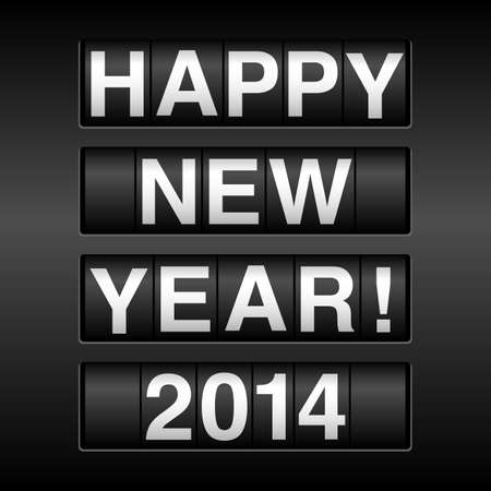 Gelukkig Nieuwjaar 2014 Kilometerstand