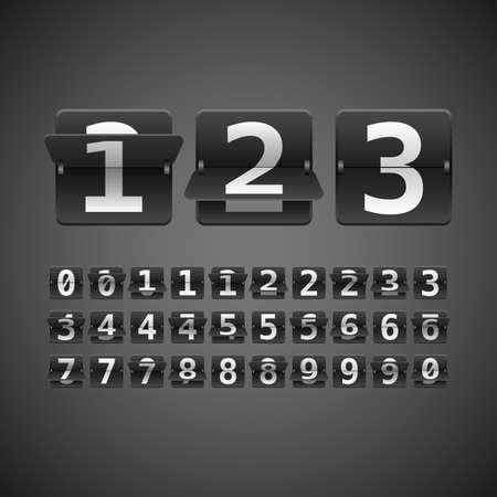numbers: Flip Numbers Set