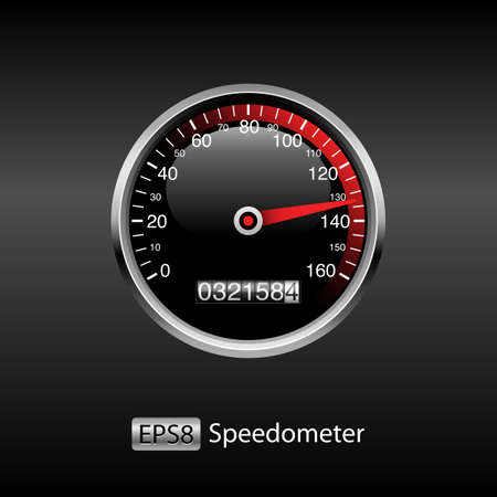 dashboard: Dashboard Background - Includes speedometer and odometer