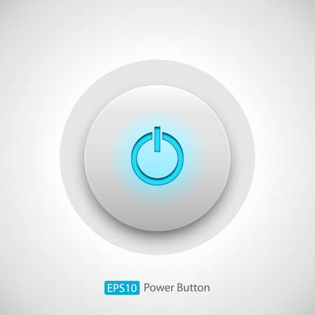 Power Button Background - Vector power button background   EPS10 file with transparency