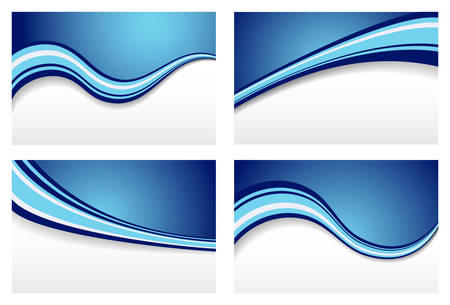 backgrounds: Blue Wave Backgrounds