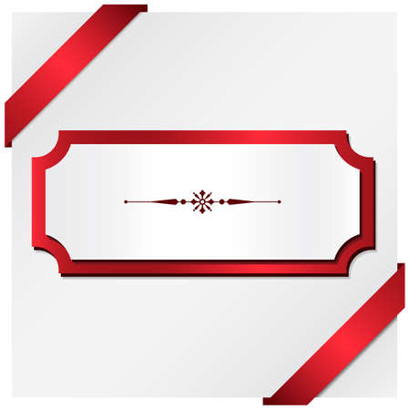 Christmas Present Background - Holiday themed frame background.  File uses simple gradients. Çizim