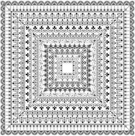 테두리 설정을 반복 - 국경을 반복 설정합니다. 홈페이지 테두리 요소 및 코너 요소는 모두 각각의 국경 패턴이 포함되어 있습니다.