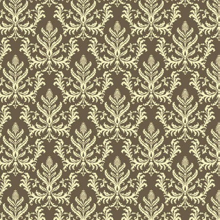 swatches: Damask Pattern  Seamless damask pattern.  Pattern is behind a clipping mask.  Colors are global for easy editing.  Pattern swatch is included in swatches window.