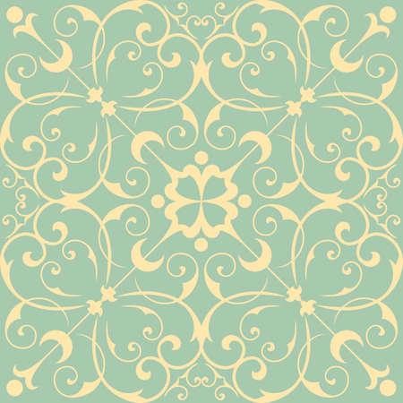 원활한 벽지 패턴 - 원활한 패턴 타일입니다. 타일은 견본 창에도 포함되어 있습니다. 색상은 쉽게 편집 할 수 있도록 전역입니다. 일러스트