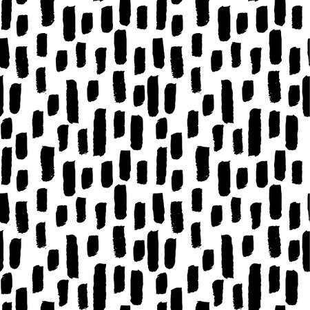 Seamless Pattern Abstract Hand Drawn Doodles — Abstract seamless pattern of hand drawn doodles. Pattern tile is included in swatches window.
