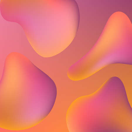 Abstract Gradient Background - Colorful abstract gradient mesh background