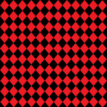 diamond-shaped Leather texture pattern vector on black red background