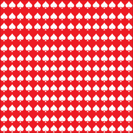 clubs Leather texture pattern vector on white red background