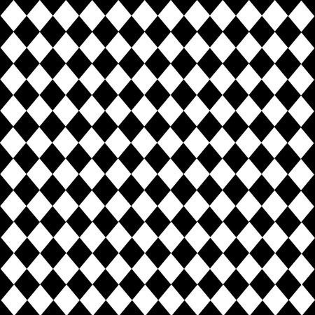 diamond-shaped Leather texture pattern vector on black white background Vectores