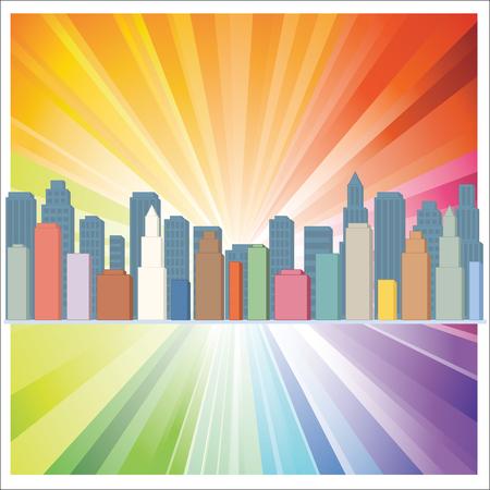 building design abstract background vector illustration 矢量图像