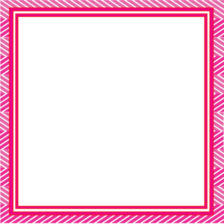 Pink abstract frame. Template for designs, invitation, party, birthday, wedding.
