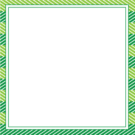Green abstract frame Template for designs, invitation, party, birthday, wedding.