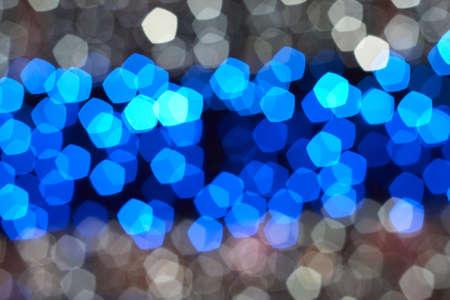 Defocus of colorful lights