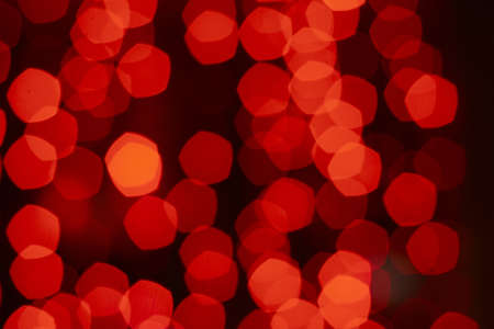 Blurry pattern of many decoration lights