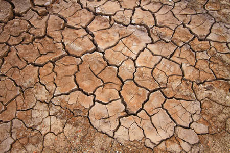 Cracked earth, possible effect of Global Warming