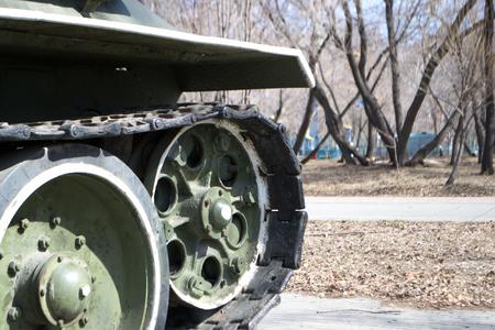 wheel barrel: Russian tanks during the Second World War