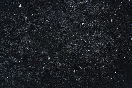 Black texture. Galaxy imitation Stock Photo