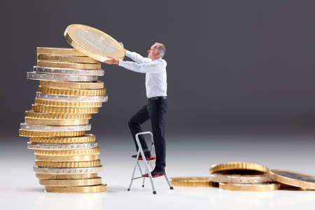 Investering van het geld III Stockfoto