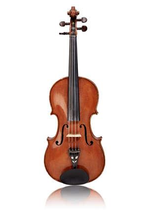 Isolierte alten Geige Standard-Bild - 40562134