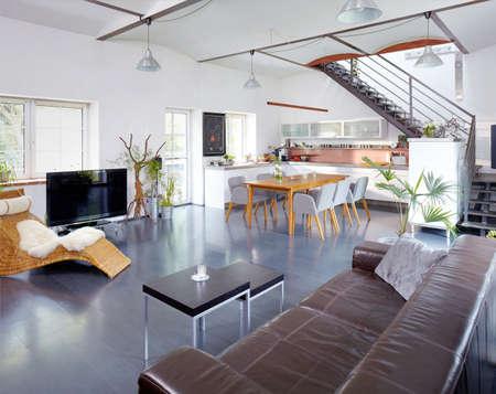 Modern Apartment Standard-Bild
