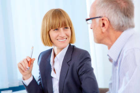business people meeting: Business people meeting in a modern office