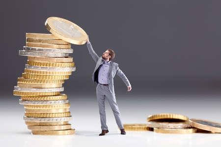 Investition von Geld, das Symbol Standard-Bild - 44818825