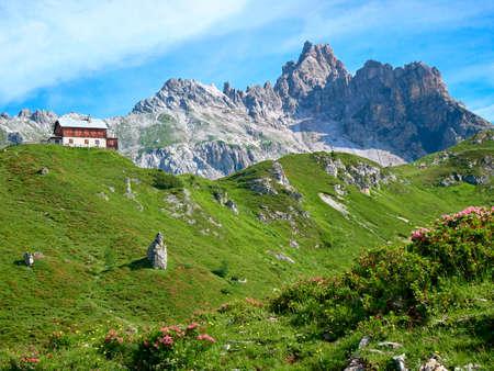 산 Faulkogel 오스트리아 - 잘츠부르크 - Lungau - Riedingtal 스톡 콘텐츠