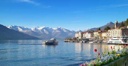 Beautiful village Bellagio, lake como italy