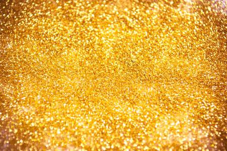 Golden glitter texture for magical background