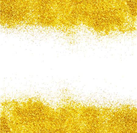 polvo: brillo del oro para el fondo maravilloso de Navidad
