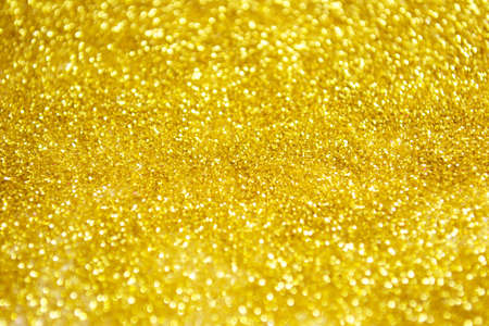 Pure gold glitter for wonderful Christmas background. Holiday background