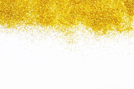 staub: Gold-Glitter Textur für schöne Weihnachten Hintergrund