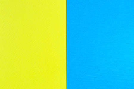 yellow paper: Blue and yellow paper. It can be used as a background